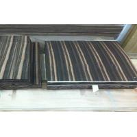 Natural Wood Flooring Veneer , Amara Ebony Veneer Straight Grain Manufactures