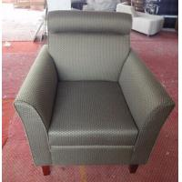 Hotel fabric lounge chair with ottoman ,single sofa LC-0010 Manufactures