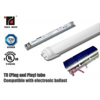 Dimmable T8 LED Tube Light 1200mm Length G13 Base SMD LEDs Light Source Manufactures