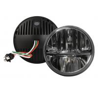 Round Shape 30W 7 Inch Car LED Fog Lights 4X4 J-Eep Offroad Accessories LED Fog Lights Manufactures