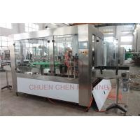 China Multi Function Pet Bottle Filling And Capping Machine , Automatic Water Filling System on sale