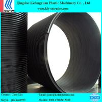 hdpe plastic water drainage sewage steel reinforced winding pipe extruder making machine Manufactures
