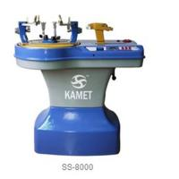 Racket stringing machine SS-8000 WITH TWO COMPUTER-CONTROLLED PULL AND MANUAL PULL Manufactures
