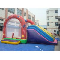 Combo Commercial Inflatable Slide , Inflatable Bouncer Slide For Playing Manufactures