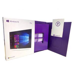 China 64 Bits Version Microsoft Windows 10 Professional Product Key Retail Box With USB on sale