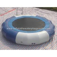 Water Sports Toys Inflatable Aqua Trampoline For Water Parks , Commercial Grade Manufactures