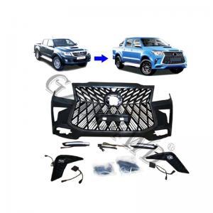 China 4x4 Body Kits  Hilux  Vigo 2012+  Upgrade Lexus LX570 2019+ Facelift  Body Kit on sale