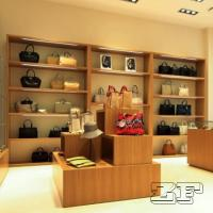 Luxury Handbag Display Cabinet/Handbag Store Display Design Manufactures