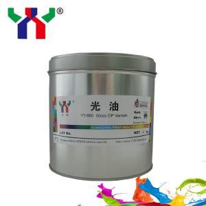 YT-660 Gloss OP Varnish /High gloss Manufactures