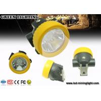 PC Material Small All in one Coal Miner Hard Hat Light with Li ion Battery Manufactures
