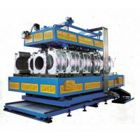 HDPE / PVC / PP Vertical  And Horizontal Pipe Extrusion Line Double Wall Corrugated Manufactures