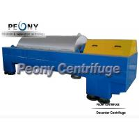 Buy cheap Continuous Decanter Centrifuges 3 Phase Centrifuge Oil Sludge Separator from wholesalers