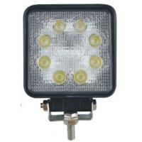 24W IP67 Square Led driving Lights Headlight 4x4 work lights Spot beam Manufactures