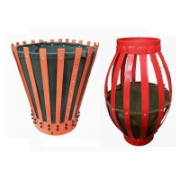 Oilfield Slip On Metal Steel Fins Cement Basket, Canvas Cementing Basket With Factory Price Manufactures