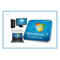 Buy cheap Windows 7 Professional Full Retail Version 32 & 64 Bit With Genuine Key from wholesalers