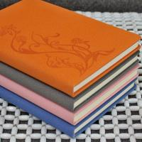 Discoloration PU leather embossed notebook Manufactures