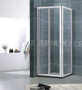 China Aluminum Alloy Square Shower Enclosure 5MM Framed Shower Enclosure For Villa on sale