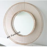 Hotel Decorative Mirrored Wall Art Decor Beveled Edge Mirror 12kg Weight Manufactures