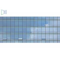 Quality Aluminium Alloy Residential Curtain Wall , 3.0mm Thickness Commercial Curtain for sale