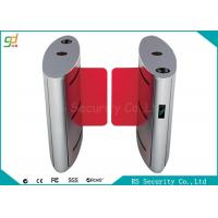 IR Sensor Speed Gates , Drop Arm Entrance Barrier Gate Alarm Light Flashing Manufactures