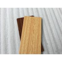Red / Wood Grain ACP Aluminium Composite Panel ACP Sheet Easy Installation Manufactures