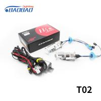 China T02 H4 bulb with lens 35w 55w car hid xenon conversion kit on sale