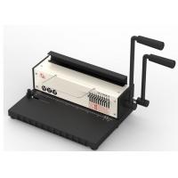 China Report Metal Wire Binding Machines Manual Tamper Resistant For School on sale