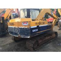 Japan Made 7 Ton / 0.3m3 Used Kobelco Excavator , Kobelco SK03 Small Mini CRAWLER Excavator Manufactures
