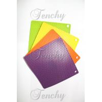 Silicone Square placemats and coasters for tableware Manufactures