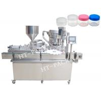 USU304 30ml 50BPM Cream Filling Machine Bottle Filling And Capping Machine Manufactures