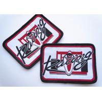 Polyester Woven Custom Clothing Patches Self Adhesive Embroidery Manufactures