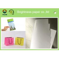 100% Virgin Wood Pulp C2s Art Paper / Chrome Art Paper For Brochure Book Manufactures