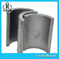 Industrial Ferrite Arc Magnet For Treadmill Motor / Water Pumps / Dc Motor Manufactures