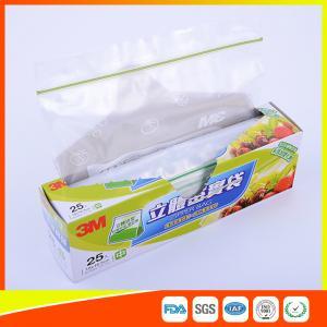 Food Grade Freezer Zip Lock Bags / Zip Top Freezer Bags Customized Printed Manufactures