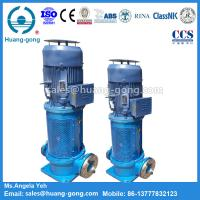 CLH200-150-7/2 Marine Water pump Marine Vertical Centrifugal Pump(124/120m3/h) Manufactures