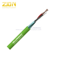 Buy cheap 1 Pair 0.8mm Knx cable LSHF GreenTechnical Datasheet Knx cable LSZH Green Jacket from wholesalers