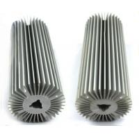Natural Oxidation Treatment Aluminum Heatsink Extrusion Profiles For Radiator Manufactures
