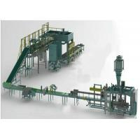 High Level Automatic Palletizer Machine For Stacking FMCG / Food Beverage On Pallets Manufactures