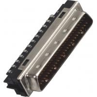 1.27*2.54 Pitchscsi 68 pin connector  Male Computer Pin Connectors Computer System Interface Manufactures