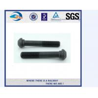 ZhongYue railway DIN 933 oval head bolts screw rail bolts with competitive price Manufactures
