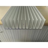 Quality High Precision Matt Anodized Aluminium Heat Sink Profiles with Lathe Maching ISO9001:2008 for sale