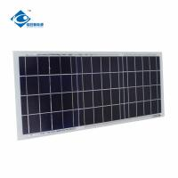 6V 15W Poly Silicon Solar Panel for Mini Solar Power System ZW-15W-6V transparent glass solar panel Manufactures
