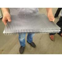 6061 T66 400MM Width Aluminum Extrusion Heat Sink CE SONCAP ISO RoHS TUV Manufactures