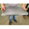 6061 T66 400MM Width Aluminum Extrusion Heat Sink CE SONCAP ISO RoHS TUV Manufactures