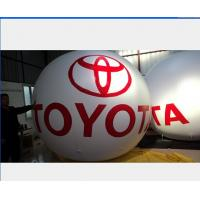 White 8m Inflatable Marketing Products , PVC Inflatable Ball Off Site Layout Manufactures