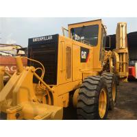 Second Hand Compact Motor Grader Caterpillar 140 2800hrs Wihout Oil Leakage