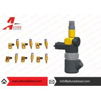 Aviation Aluminum Injector Backflow Connector Golden For Bosch / Denso JY05 Manufactures