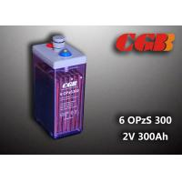 2V 6 OPzS300 Rechargeable Tube Opzs Solar Batteries UPS Telecom Application Manufactures