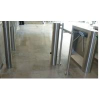 Cylinder swing flap barrier for airport Visa access control Manufactures