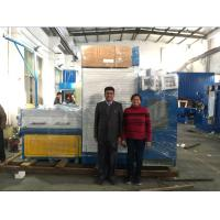 Horizontal Fine Copper Wire Drawing Machine 415V 50Hz With Annealing Machine Manufactures